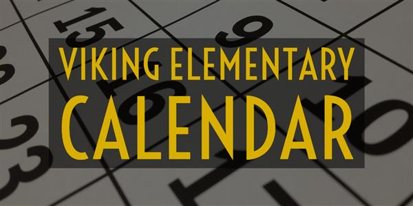 Viking School Calendar