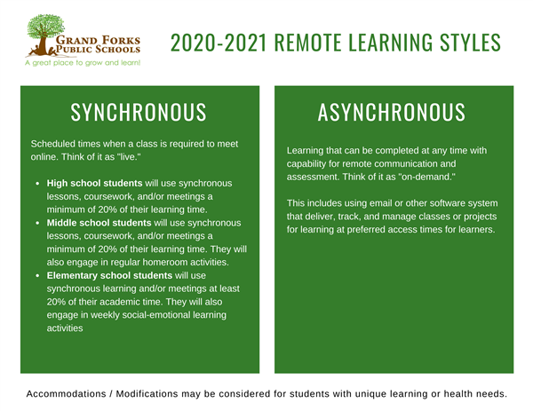 2020-2021 Remote Learning Styles