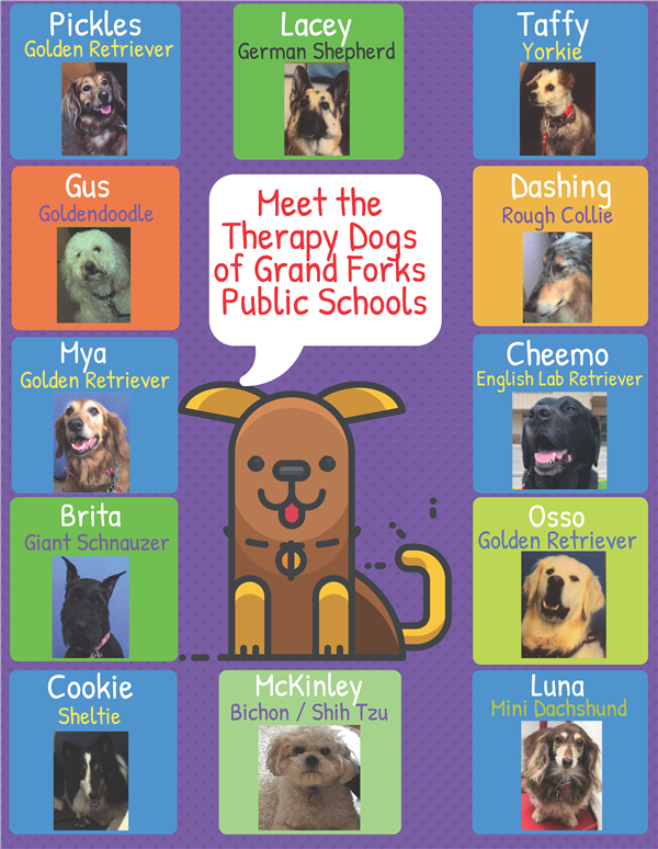 GFPS Pet Therapy Dogs