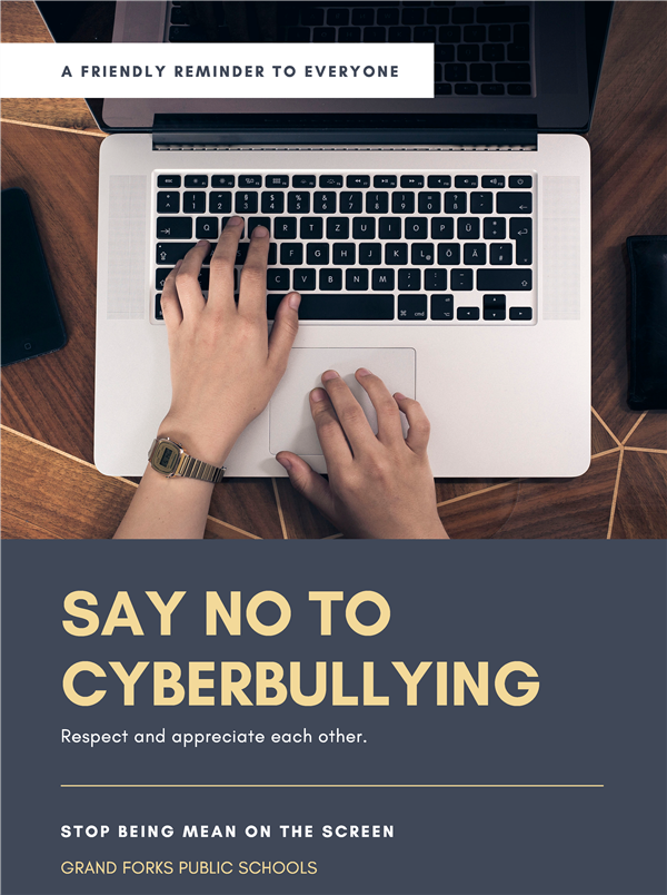 Please Report Any Cyberbulling Incidents
