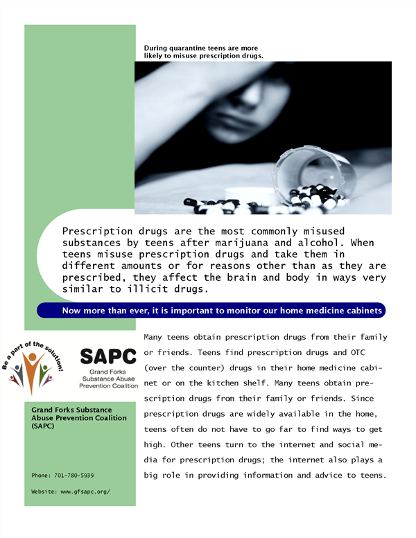 Prescription Drug Abuse Information