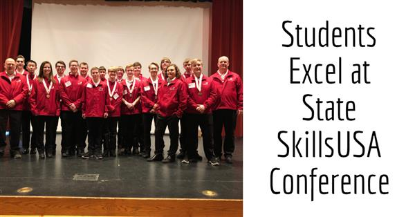 Students Excel at State SkillsUSA Conference
