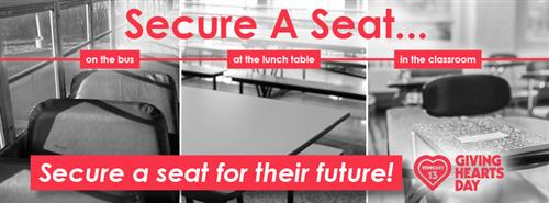 GFFE #SecureASeat